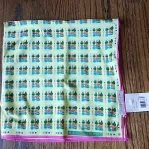 NEW Marc Jacobs 100% silk square scarf